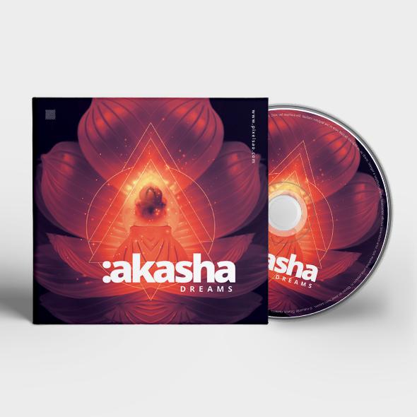 akasha dreams cd cover template