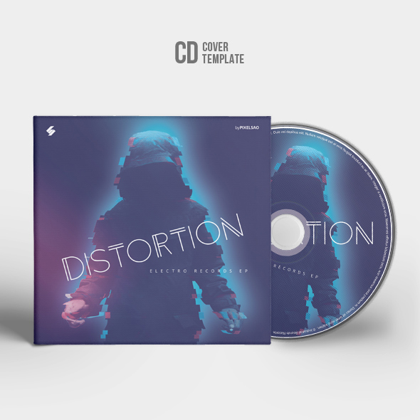 cd album cover template