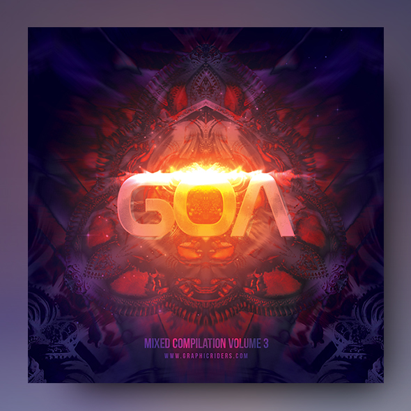 goa trance cd cover art