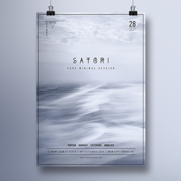 satori poster template