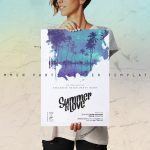 summer party poster templates
