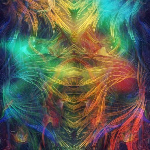 psytrance album cover artworks