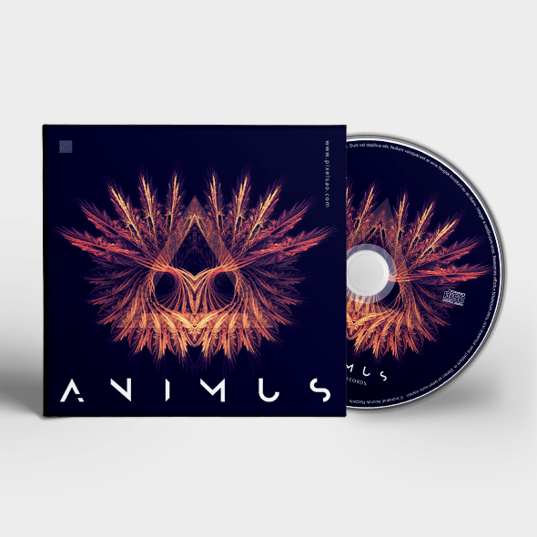animus cd cover template