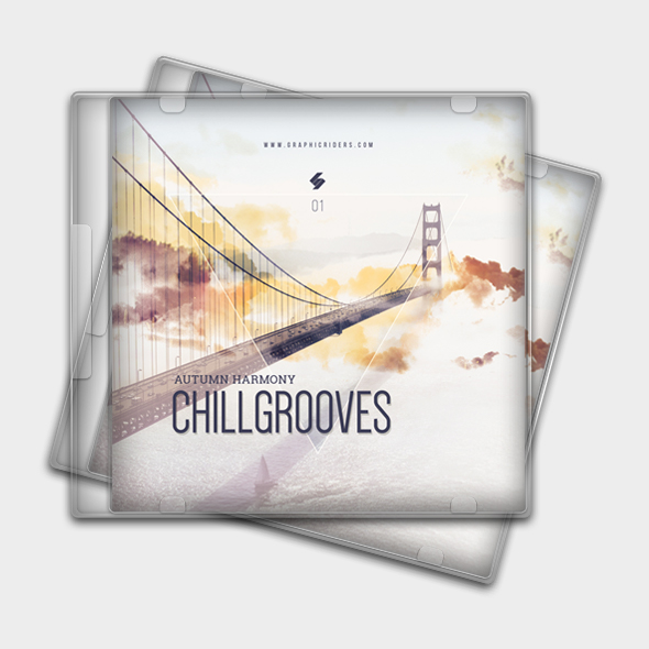 chill grooves cd cover template