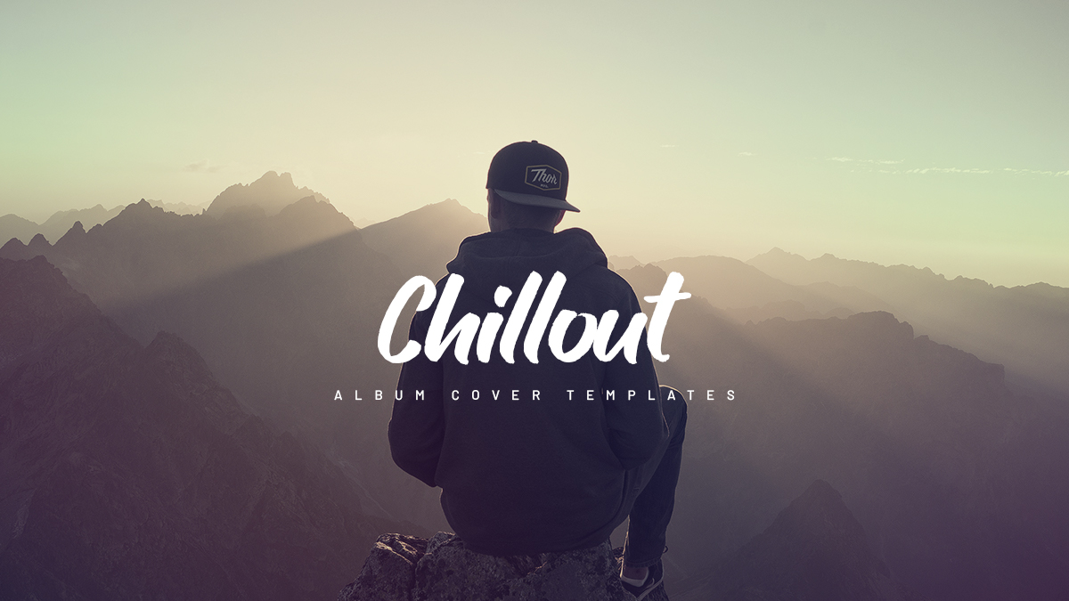 chillout album cover templates