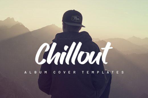chillout album cover templates