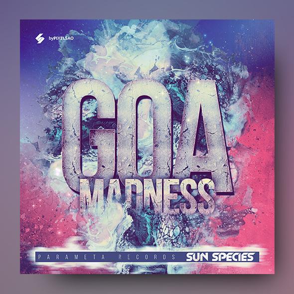 goa trance album cover artwork