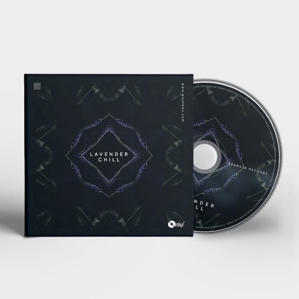 lavender chill cd cover template