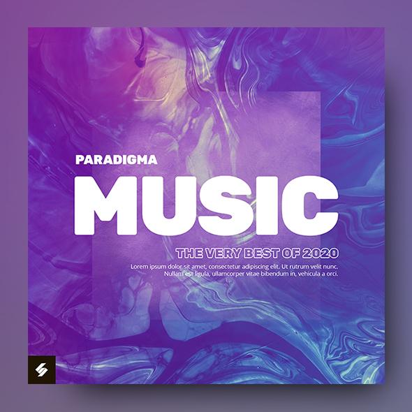 paradigma album cover template