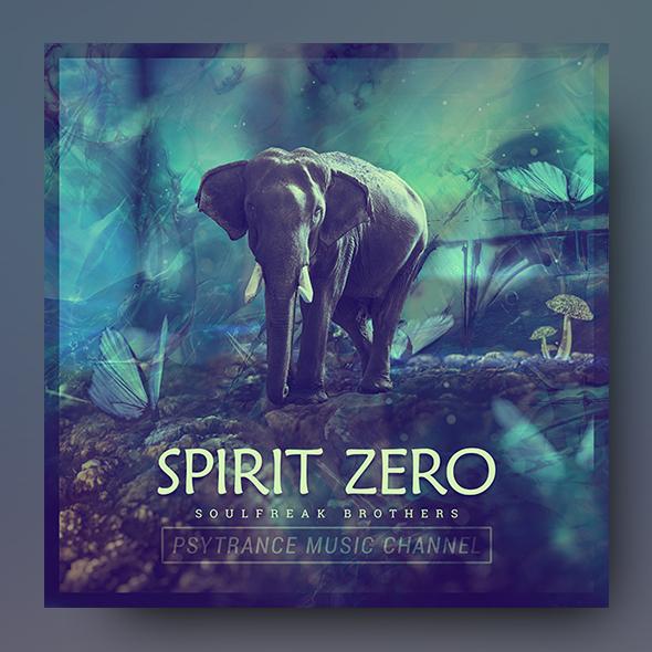 trance album cover template