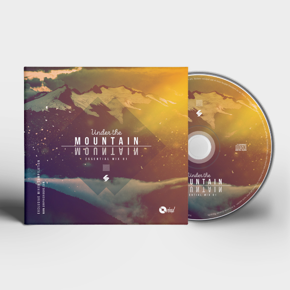 under mountain cd cover template
