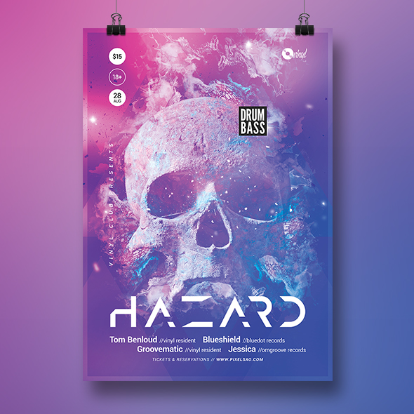 neuro dnb poster template