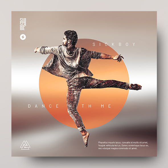 album cover artwork template