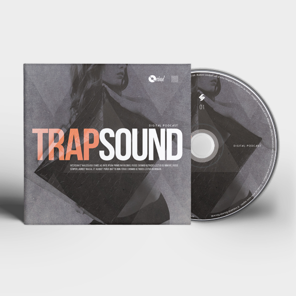 trap CD cover template