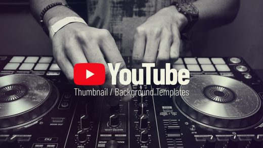 youtube thumbnail artwork templates