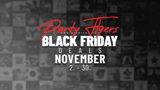 party flyer templates sale