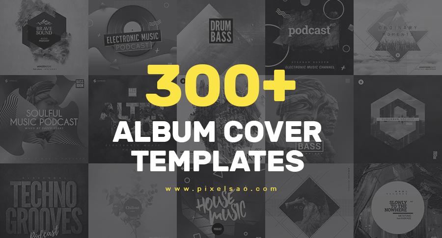 300+ album cover templates