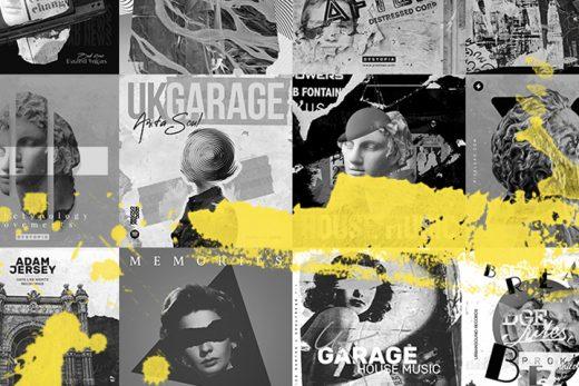 Garage Music Album Covers