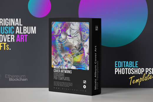 album cover artwork NFT collection