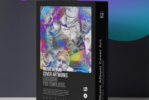 Album Cover Art NFT Psd Templates